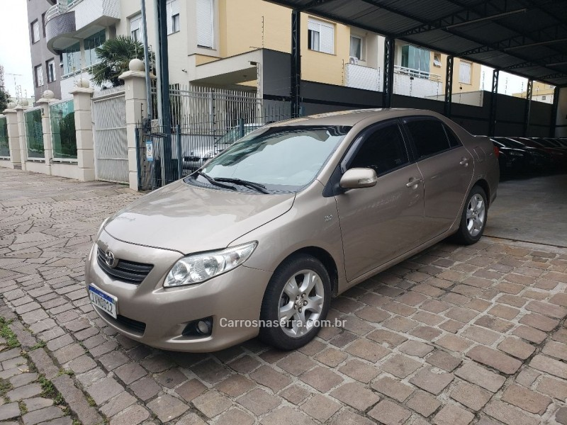 corolla 1.8 xei 16v flex 4p manual 2009 caxias do sul
