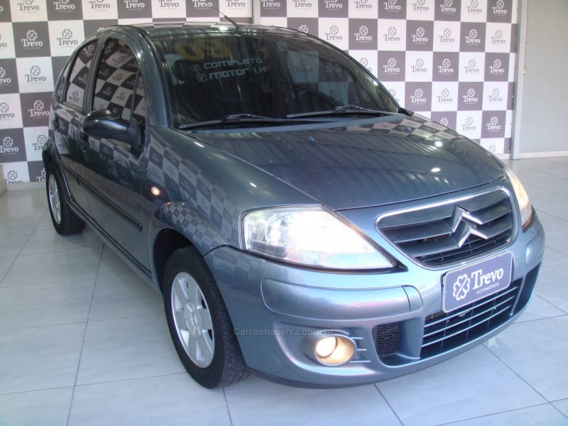 c3 1.4 i glx 8v gasolina 4p manual 2009 taquara