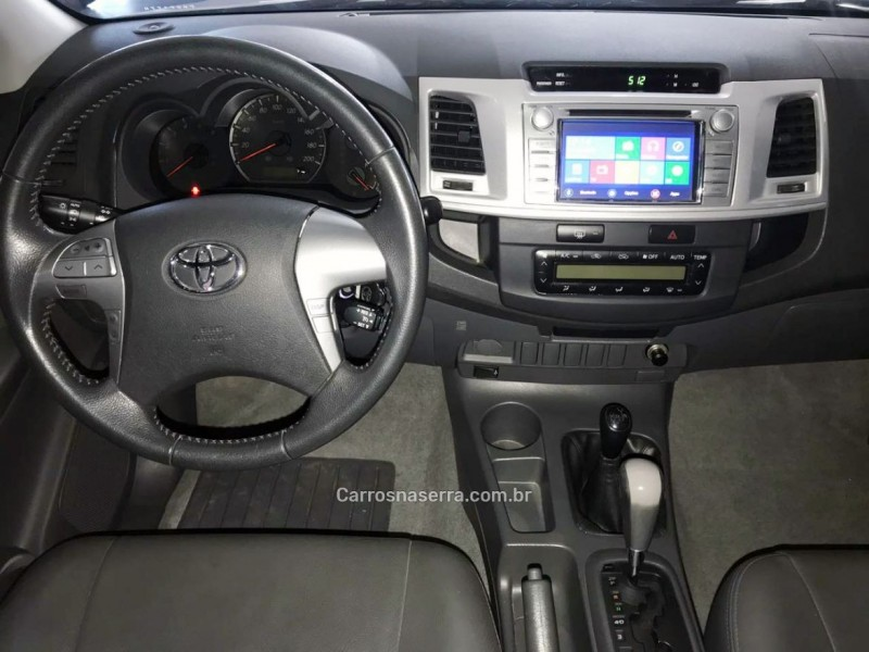 HILUX 3.0 SRV 4X4 CD 16V TURBO INTERCOOLER DIESEL 4P AUTOMÁTICO - 2015 - CAXIAS DO SUL