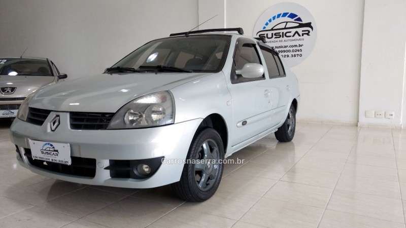 clio 1.6 privilege sedan 16v flex 4p manual 2008 caxias do sul