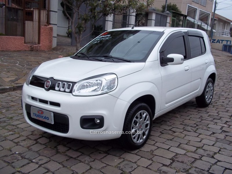 uno 1.4 evo evolution 8v flex 4p manual 2015 caxias do sul