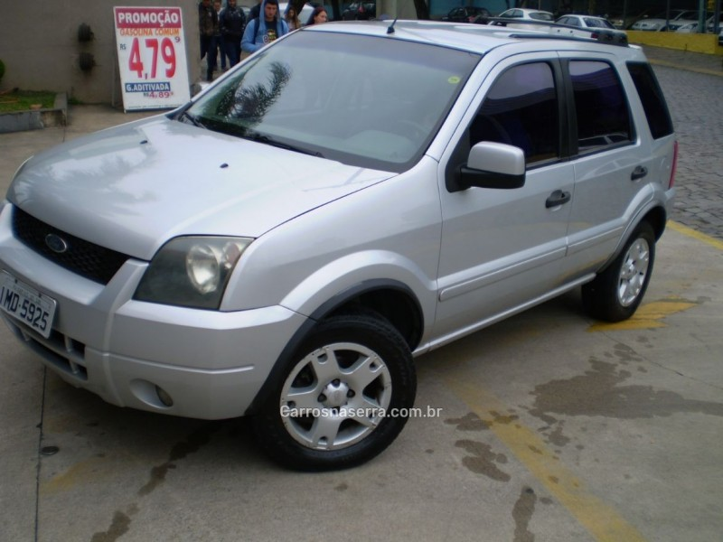 ecosport 1.6 xlt 8v gasolina 4p manual 2005 caxias do sul