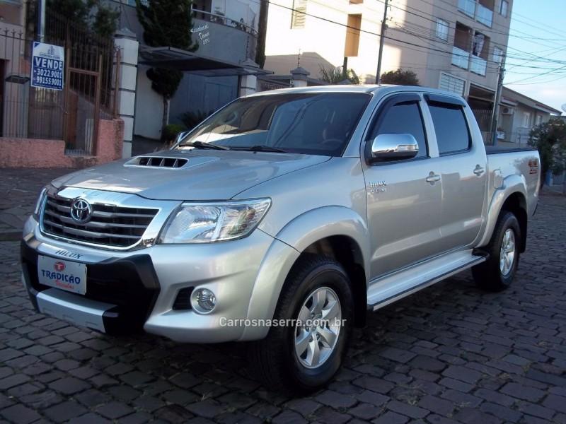 hilux 3.0 srv 4x4 cd 16v turbo intercooler diesel 4p manual 2012 caxias do sul