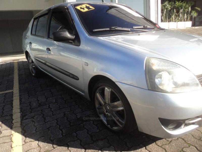 clio 1.0 authentique sedan 16v flex 4p manual 2007 caxias do sul