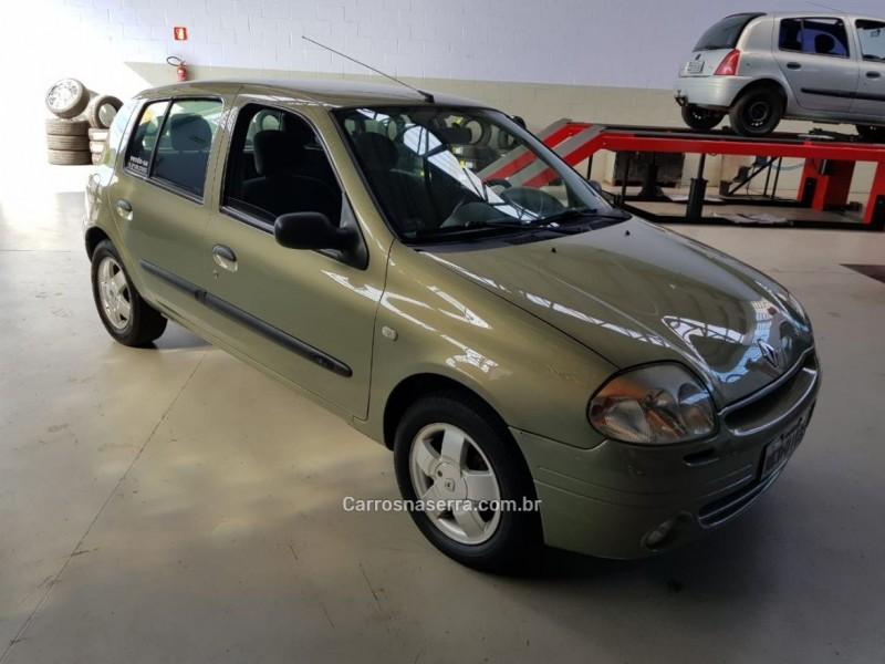 clio 1.0 rt 16v gasolina 4p manual 2002 caxias do sul