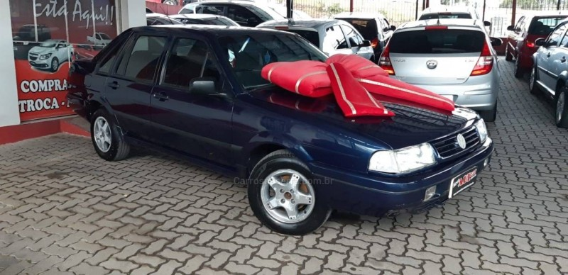 santana 1.8 mi 8v gasolina 4p manual 1997 caxias do sul