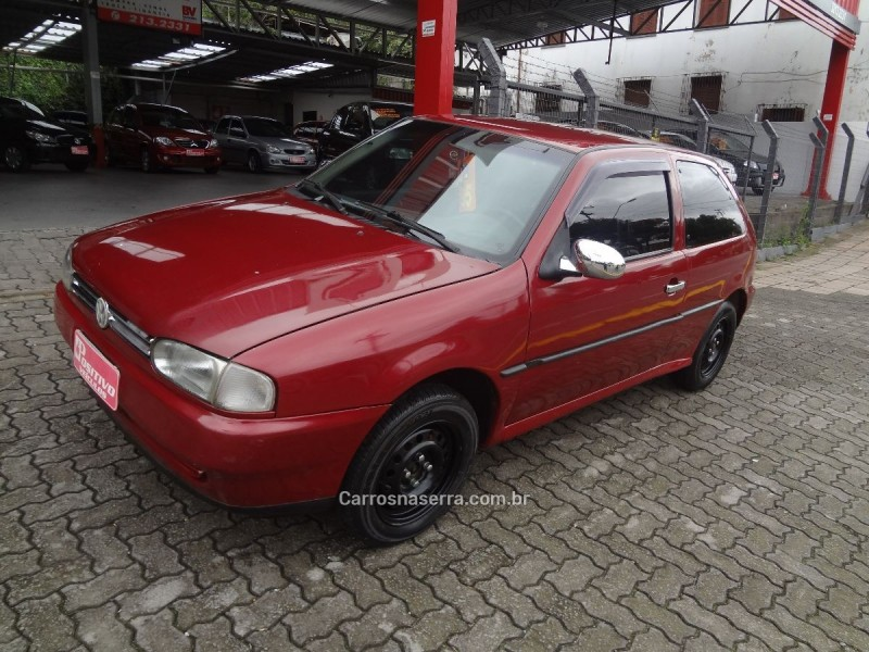 gol 1.0 8v gasolina 2p manual 1995 caxias do sul