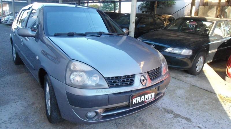 clio 1.6 authentique sedan 16v flex 4p manual 2006 caxias do sul