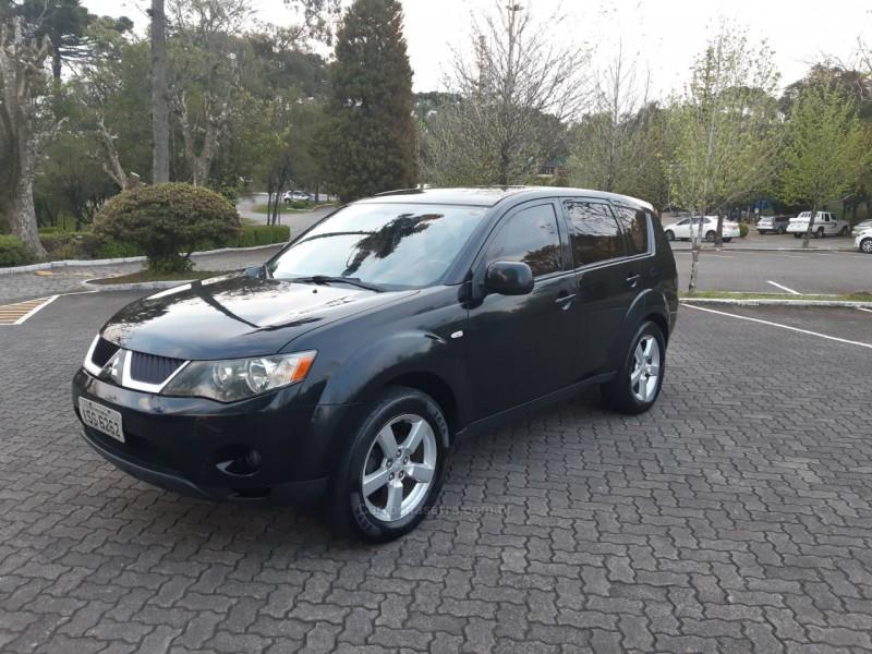 outlander 3.0 4x4 v6 24v gasolina 4p automatico 2008 caxias do sul