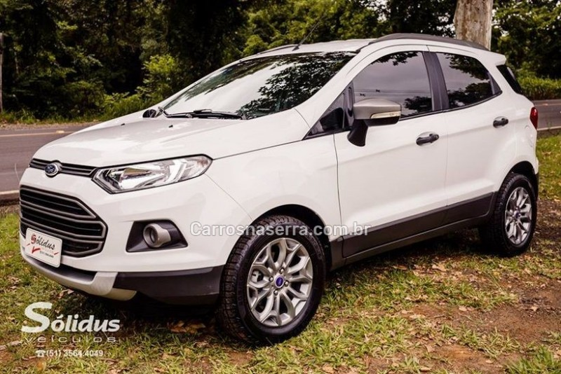 ecosport 1.6 freestyle 16v flex 4p manual 2015 dois irmaos