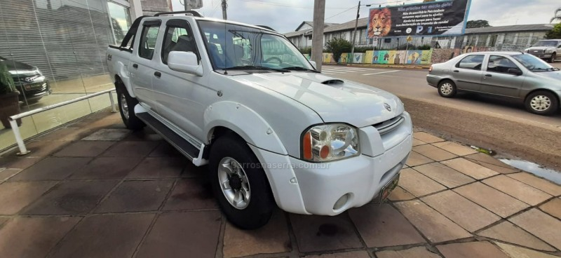frontier 2.8 se 4x4 cd turbo diesel 4p manual 2008 vacaria