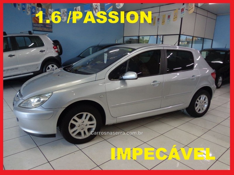 307 1.6 passion 16v gasolina 4p manual 2004 caxias do sul