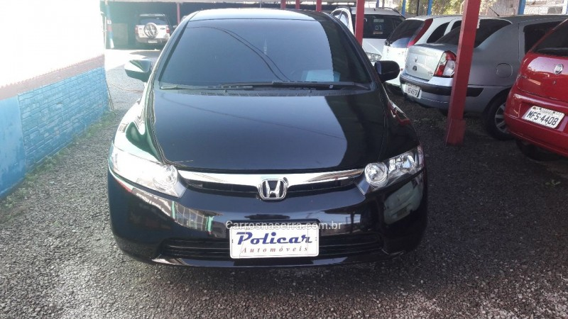civic 1.8 lxs 16v flex 4p automatico 2007 caxias do sul