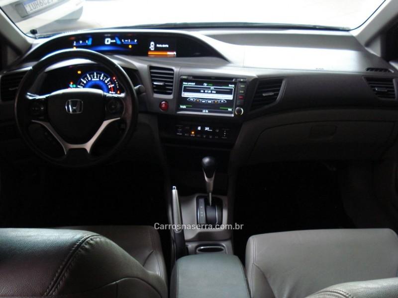 CIVIC 2.0 LXR 16V FLEX 4P AUTOMÁTICO - 2014 - FARROUPILHA