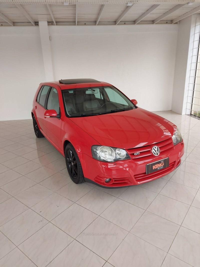 golf 1.8 mi gti 20v 193cv turbo gasolina 4p tiptronic 2008 caxias do sul