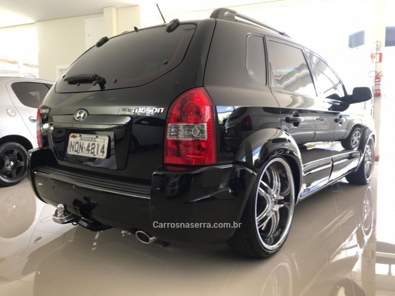 TUCSON 2.0 MPFI GL 16V 2WD GASOLINA 4P AUTOMÁTICO - 2010 - FLORES DA CUNHA