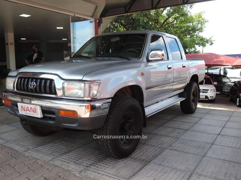 hilux 3.0 sr 4x4 cd 16v turbo intercooler diesel 4p manual 2005 ivoti