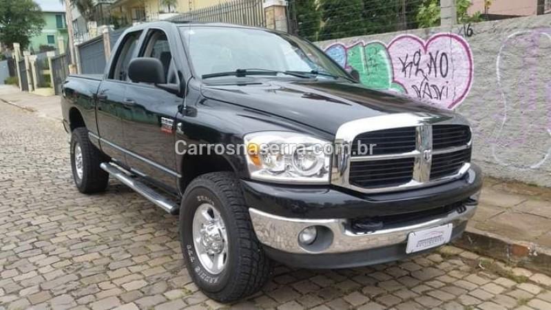 ram 5.9 2500 slt 4x4 cd i6 24v turbo diesel 4p automatico 2007 bento goncalves
