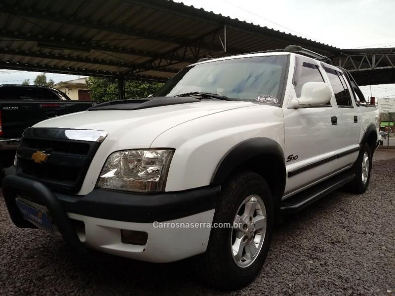 s10 2.8 dlx 4x4 cd 12v turbo intercooler diesel 4p manual 2003 caxias do sul