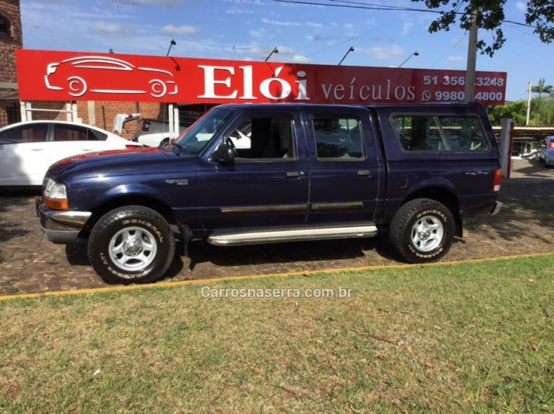 ranger 2.5 xlt 4x4 cd 8v turbo intercooler diesel 4p manual 2001 dois irmaos