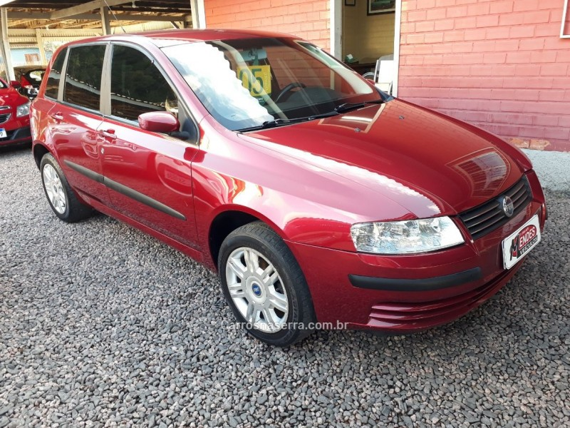 stilo 1.8 mpi 8v flex 4p manual 2005 tres coroas