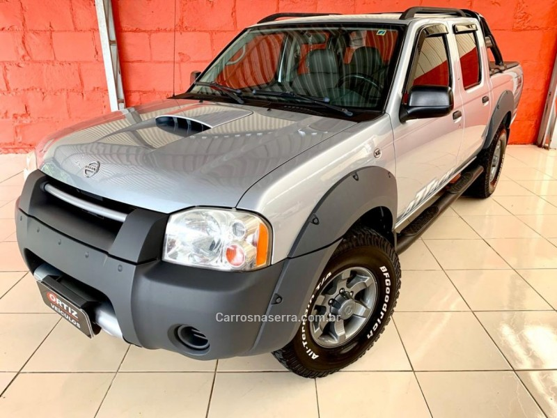 frontier 2.8 xe attack 4x4 cd turbo eletronic diesel 4p manual 2006 caxias do sul