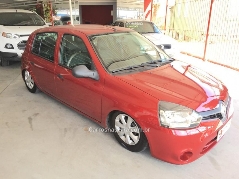 clio 1.0 authentique 16v gasolina 4p manual 2014 caxias do sul
