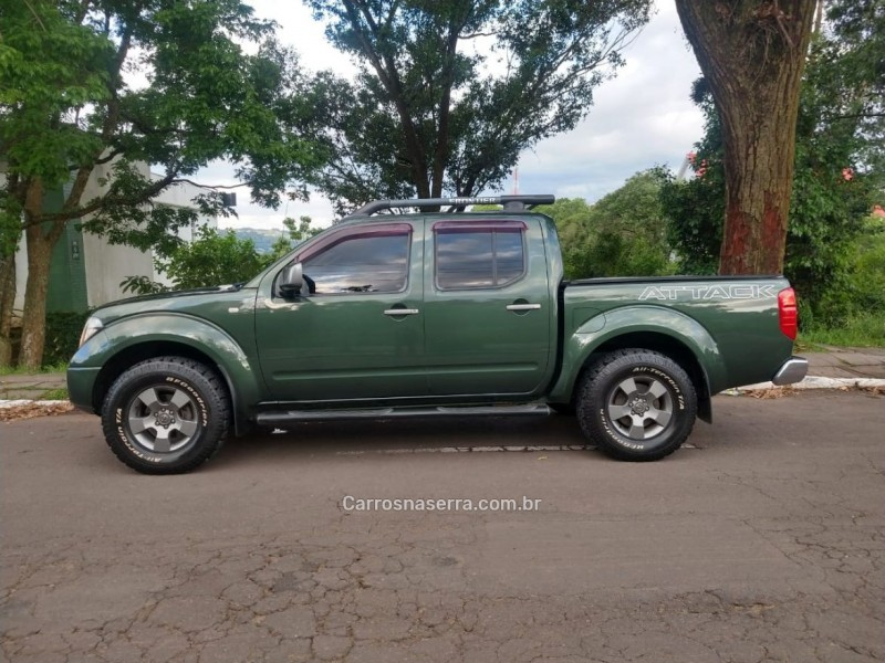 frontier 2.5 le attack 4x4 cd turbo eletronic diesel 4p automatico 2013 bento goncalves
