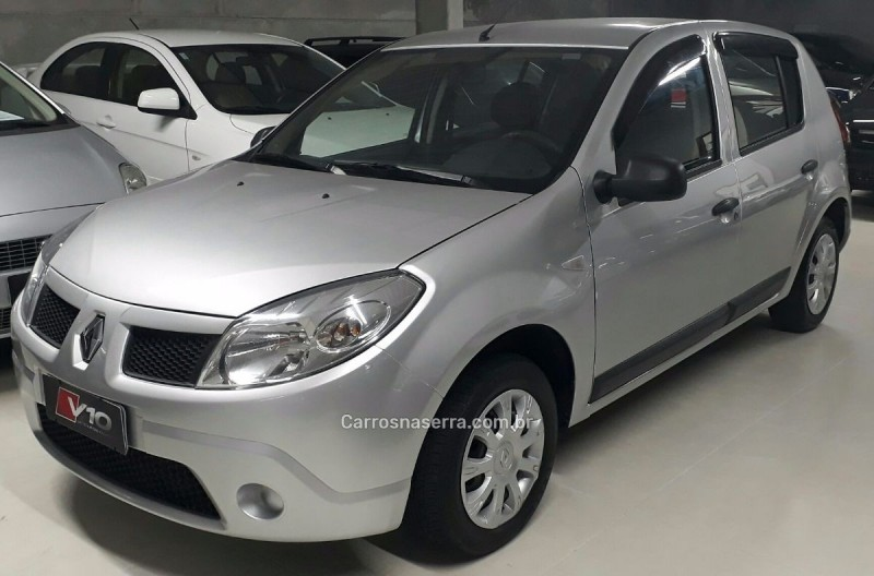 sandero 1.0 expression 16v flex 4p manual 2010 caxias do sul