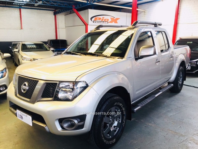 frontier 2.5 sv attack 4x4 cd turbo eletronic diesel 4p automatico 2016 caxias do sul