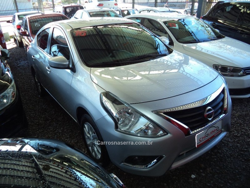 versa 1.6 16v flex sl 4p manual 2016 caxias do sul