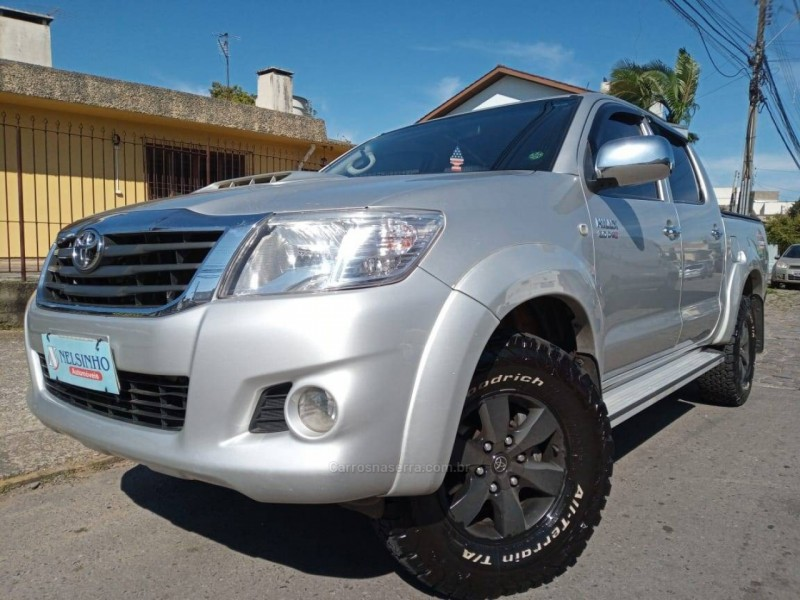 hilux 3.0 std 4x4 cd 16v turbo intercooler diesel 4p manual 2013 caxias do sul