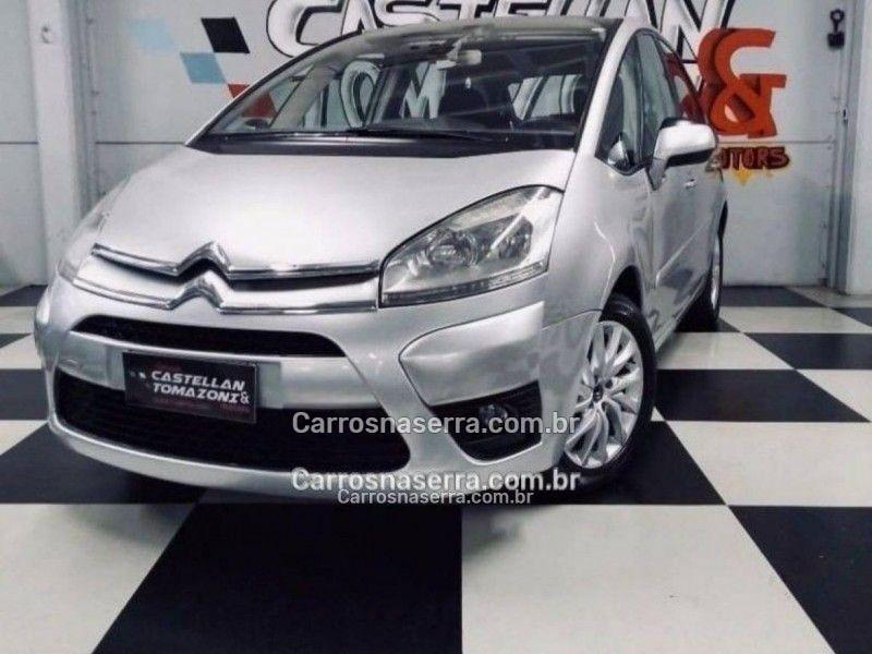 c4 picasso 2.0 16v gasolina 4p automatico 2012 caxias do sul