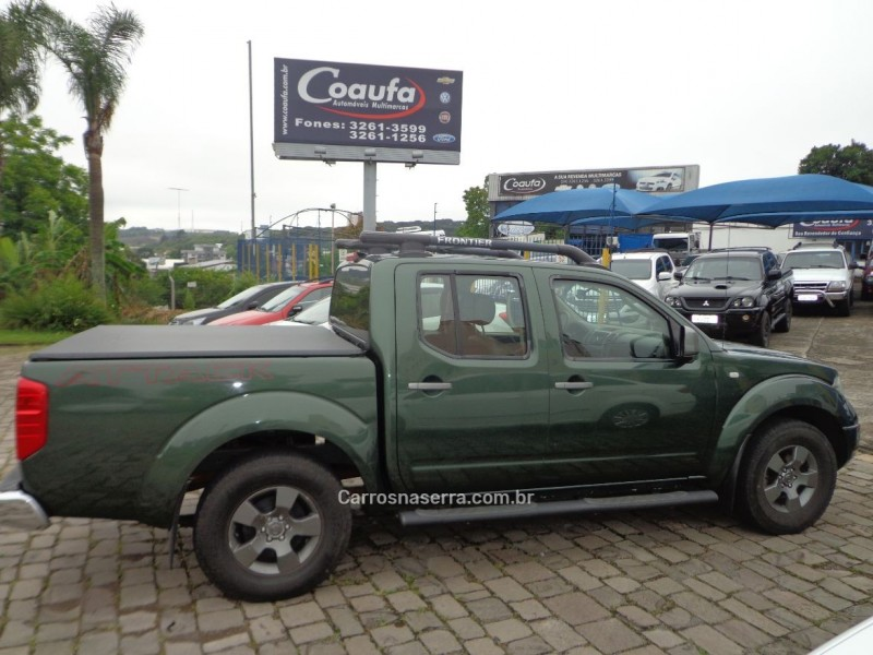 frontier 2.5 se attack 4x2 cd turbo eletronic diesel 4p manual 2013 farroupilha
