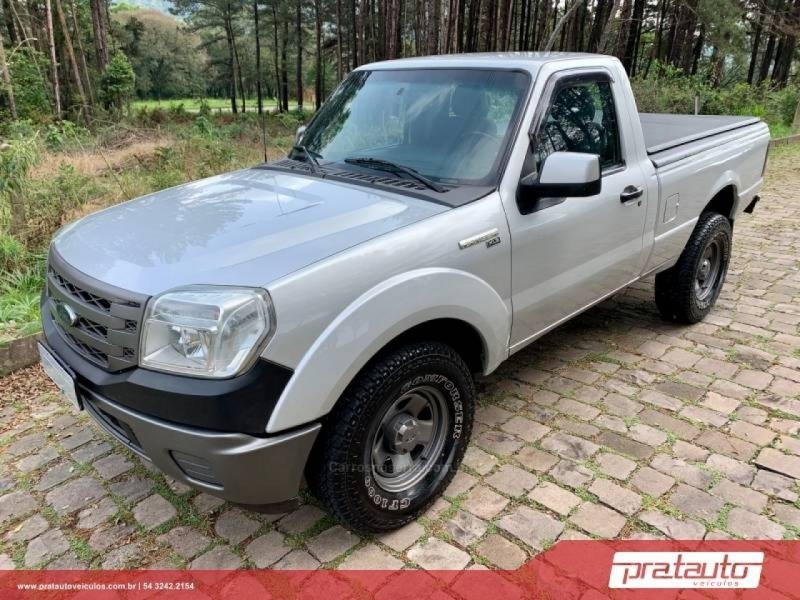 ranger 2.3 xls 4x2 cs 16v gasolina 2p manual 2010 nova prata