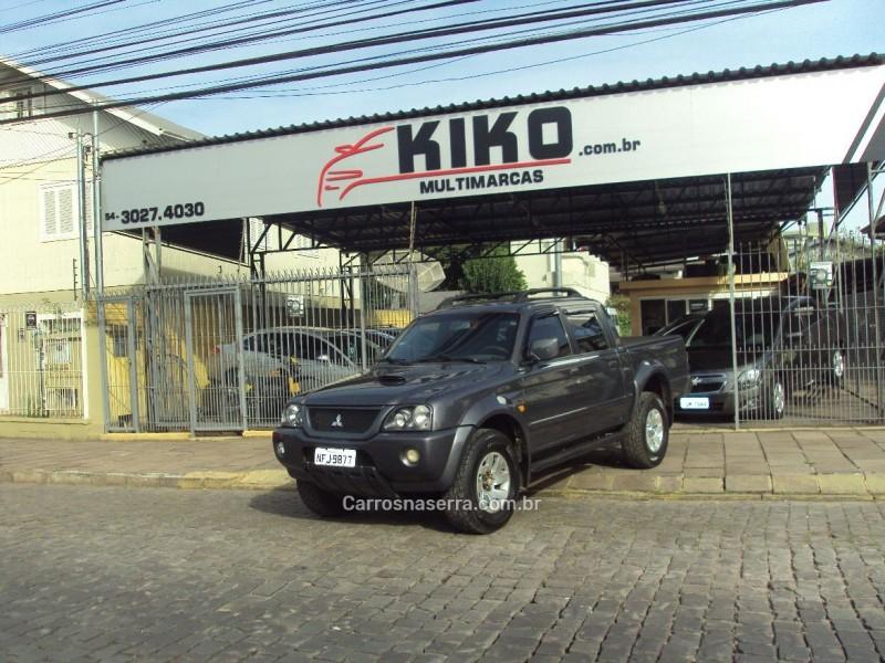 l200 2.5 sport hpe 4x4 cd 8v turbo intercooler diesel 4p automatico 2004 caxias do sul