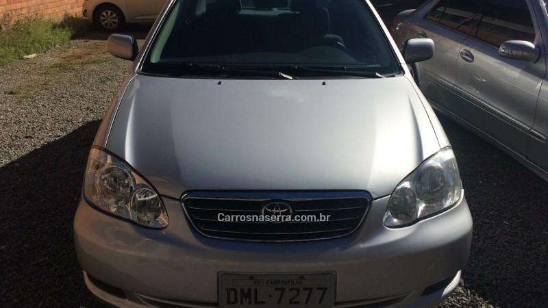 corolla 1.8 xei 16v gasolina 4p automatico 2004 farroupilha