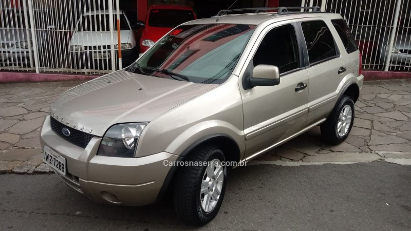 ecosport 1.6 xlt 8v flex 4p manual 2006 caxias do sul