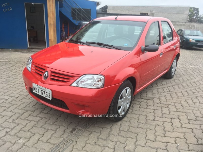 logan 1.0 authentique 16v flex 4p manual 2008 caxias do sul