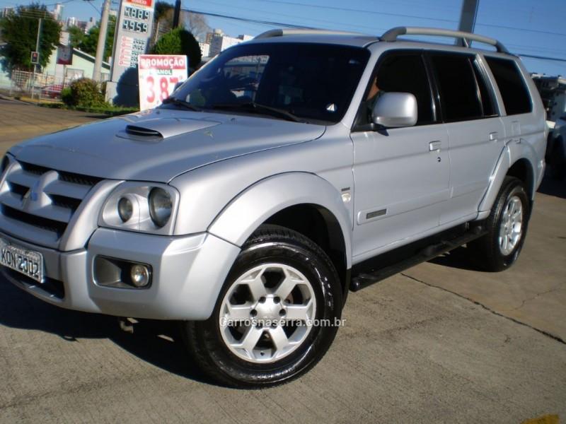 pajero sport 3.5 hpe 4x4 v6 24v flex 4p automatico 2010 caxias do sul