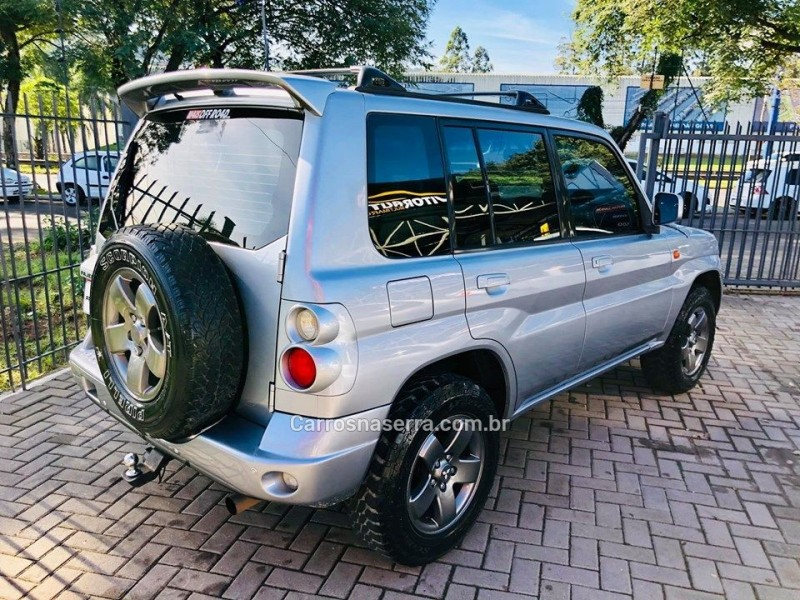 PAJERO TR4 2.0 4X4 16V 131CV GASOLINA 4P AUTOMÁTICO - 2007 - ESTâNCIA VELHA