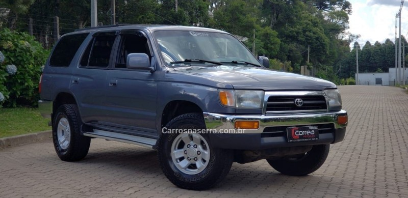 hilux sw4 3.0 4x4 8v turbo diesel 4p manual 1998 canela