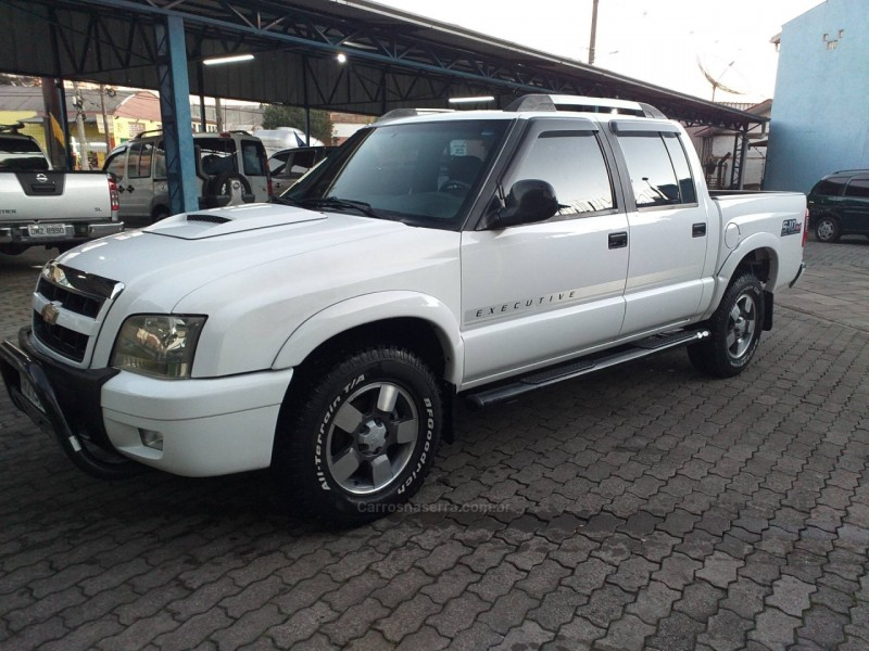 S10 2.8 EXECUTIVE 4X4 CD 12V TURBO ELECTRONIC INTERCOOLER DIESEL 4P MANUAL - 2010 - CAXIAS DO SUL