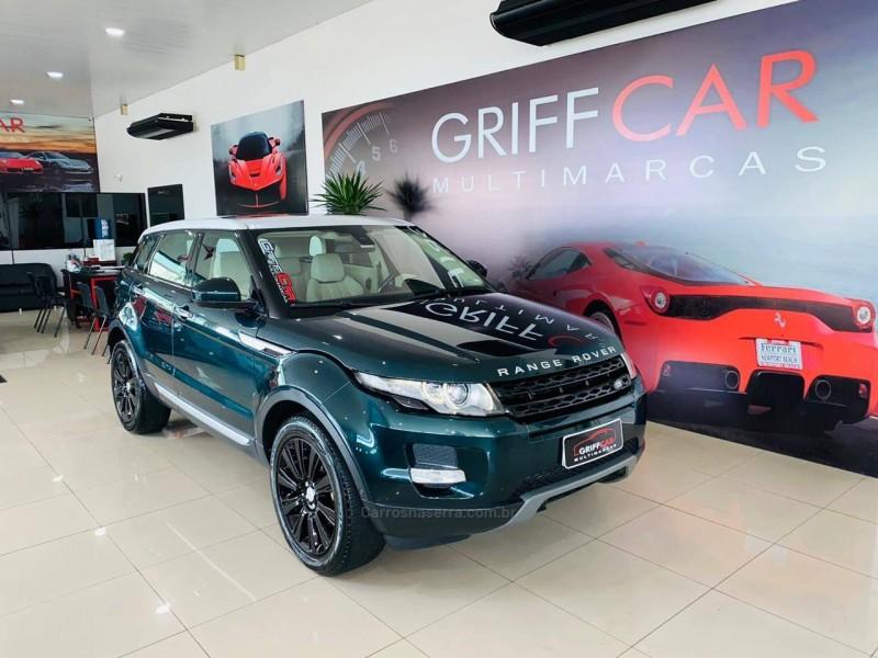 range rover evoque 2.0 prestige 4wd 16v gasolina 4p automatico 2014 dois irmaos