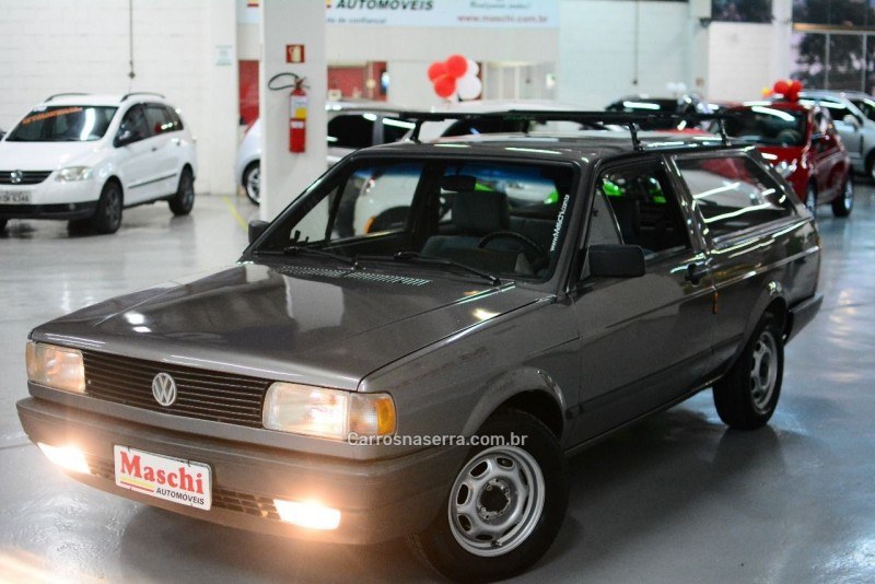 parati 1.6 cl 8v gasolina 2p manual 1992 caxias do sul