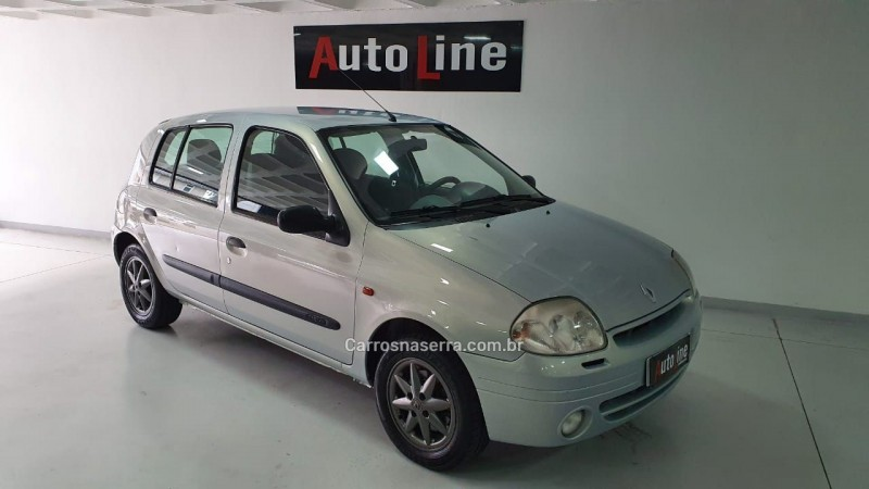 clio 1.6 privilege 16v gasolina 4p manual 2003 bento goncalves