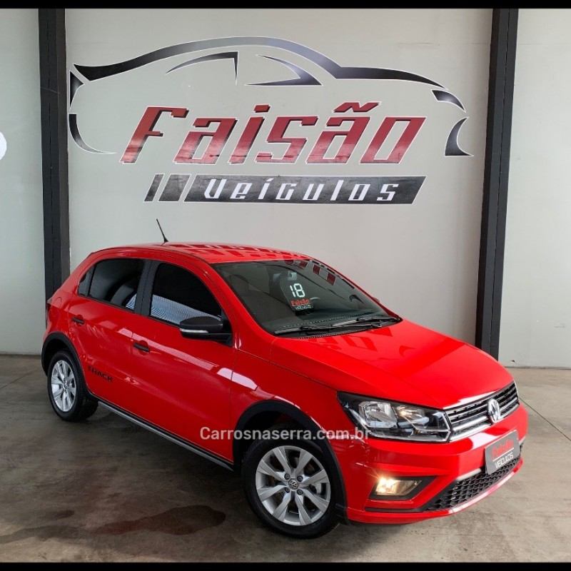 gol 1.0 track 12v flex 4p manual 2018 portao
