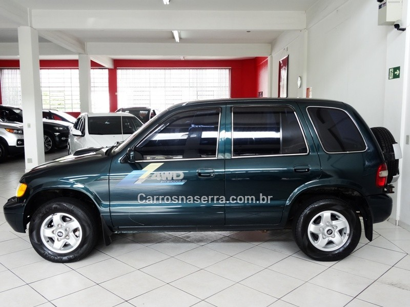 SPORTAGE 2.0 D 4X4 TURBO INTERCOOLER DIESEL 4P MANUAL - 2001 - CAXIAS DO SUL