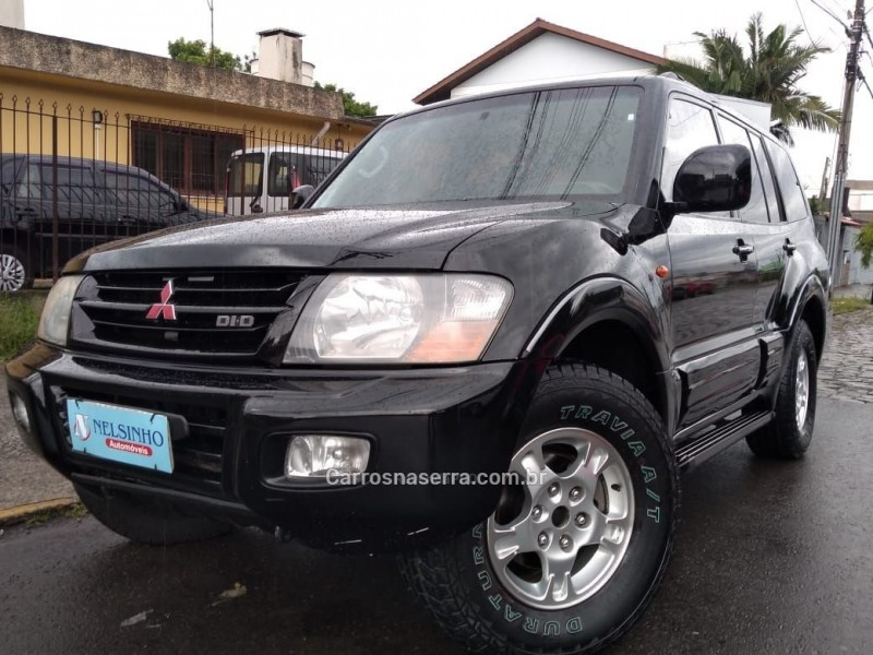 pajero full 3.2 gls 4x4 turbo intercooler diesel 4p automatico 2002 caxias do sul