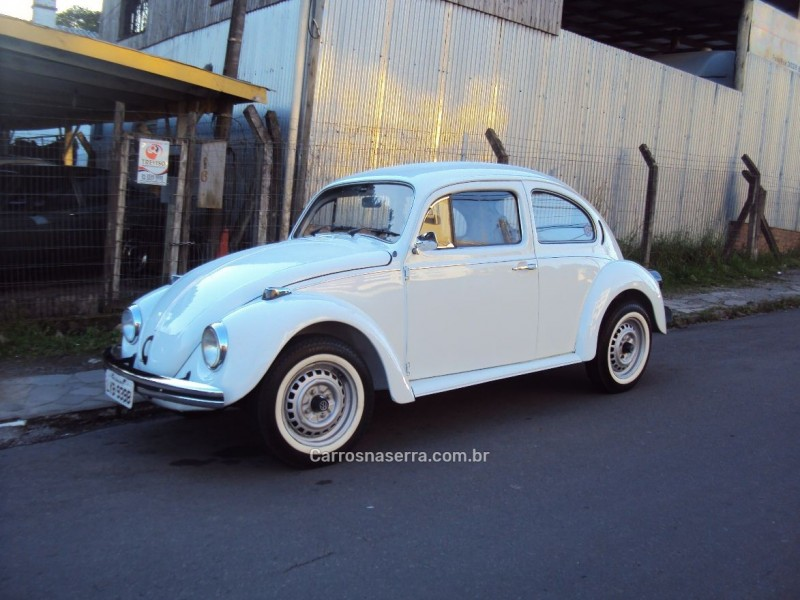 fusca 1.6 8v gasolina 2p manual 1986 caxias do sul